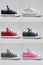 Converse Toddlers/Infants C/T A/S OX Lo Trainers New In UK Size  EBay
