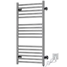 towel warmer rack. Heated Towel Racks Rail, Stainless Steel Electric Wall Mounted Warmer Holder Dryer, Rack