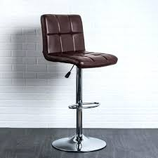 ksp demi tufted faux leather barstool brown kitchen stuff plus brown leather tufted bar stools kitchen