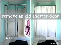 glamorous how to clean a shower door how to remove a shower door track image bathroom