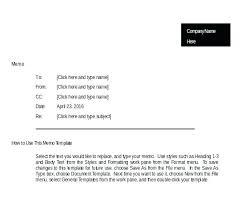 Business Memorandum Examples Word Document Memo Template Deadling Info