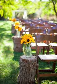 diy outdoors wedding ideas use tree stumps step by step tutorials and projects ideas
