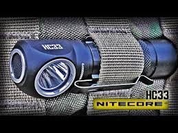 Nitecore HC33 <b>Налобный фонарь</b> с Широкими <b>возможностями</b> ...