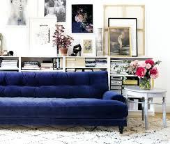 dark blue sofa. Blue Sofa Living Room Velvet Dark A