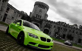green car wallpaper hd. Simple Wallpaper Green BMW M3 With Car Wallpaper Hd P