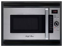 half time 24 built in convection microwave oven stainless steel black