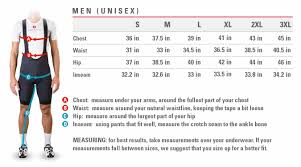Canari Cycling Shorts Size Chart Sports Tours International Partenrs With Castelli Sports