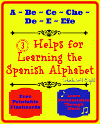 Spanish Alphabet Pronunciation Chart 3 Helps For Learning The Spanish Alphabet Startsateight