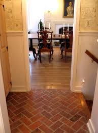 Brick Floors In Kitchen Faux Brick Flooring All About Flooring Designs