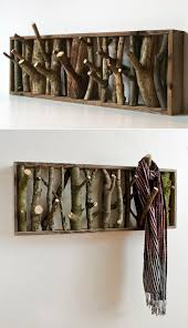 Diy Wood Coat Rack Accessories Diy Branch Hooks 100 Coolest DIY Wall Hook And Coat 90