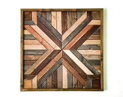 large primitive geometric quilted wood wall art wood mandala wall art large wood wall art woods  on wood mandala wall art large with rustic modern wood sculpture wall art triptych art 3 set large trees