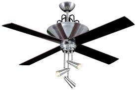 ellington fans e gal52bc4gr 3 light galileo ceiling fan black