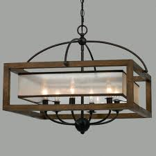 popular rustic rectangular chandeliers 24w x 20t square wood frame and sheer chandelier large distressed white