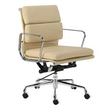 milan direct replica eames executive office. Milan Direct Eames Premium Leather Replica Soft Pad Management Office Chair Executive