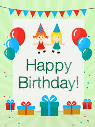 Free Childrens Birthday Cards Greeting Cards For Kids Birthday Party