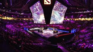 black hole ti5 stage projection dota 2 youtube