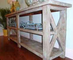 contemporary rustic furniture. Modern Rustic Wood Furniture. Custom DIY Narrow Console Table With Storage And Contemporary Furniture
