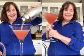 Ina Garten Made a Giant Cosmopolitan Cocktail for April Fool's Day |  PEOPLE.com