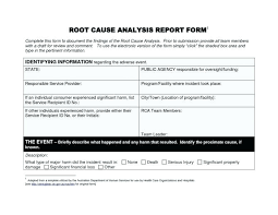 Failure Analysis Report Product Equipment Doc Cause Of