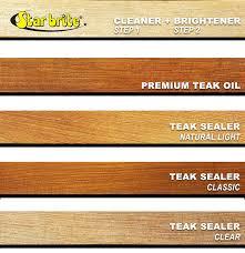 Semco Teak Sealer Color Chart Star Brite Tropical Teak Oil Sealer Natural Light Marine