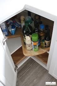 lazy susan the best kitchen cabinet organization ideas this modern farmhouse white kitchen is