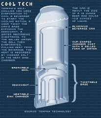 self heating and cooling.  And Iu0027ve Tried The Self Heating Cans But Not Cooling Ones Yetu2026 U201cTempra  Technology And Crown Holdings Present First Real Selfrefridgerating Can For Self Heating And Cooling