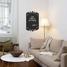 reusable chalkboard frame wall decal