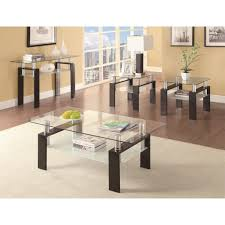 coaster furniture 702289 occasional group tempered glass sofa table in sofa table glass with regard to house