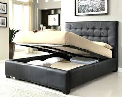 Black Queen Bed Set Bedroom Dimora Leather – template-compassion.info