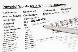 Strong Words To Use In A Resume Words To Use For Resumes Leon