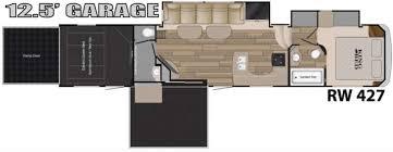 floorplan 2016 heartland road warrior 427 next floorplan le