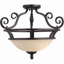 bracket ceiling semi flush ceiling lighting fixtures luxury manor 2 light semi flush mount fioi