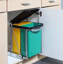 Delightful Teleskop Mülleimer Abfalleimer Einbaumülleimer Küchen Abfall Eimer 16 Liter