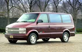 1996 Chevrolet Astro Cargo - Information and photos - ZombieDrive