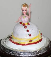 Princess Doll Cake Recipe Eggless Barbie Doll Disney Princess