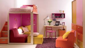 Pink And Orange Bedroom Room Desigs