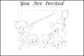 Small Picture DIY Free Printable Party Invitations Coloring Pages