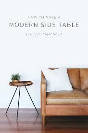 modern side tables. DIY Modern Side Table Tables