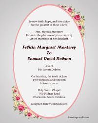 Sample Wedding Invitation Wording Fairytale Wedding Invitation Wording Samples Invitations 30