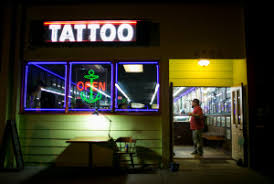 The mark-it market at Southern Hellfire tattoo parlor