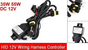 hid 12v wiring harness controller h4 35w 55w wiring harness controller hid at Wiring Harness Controller