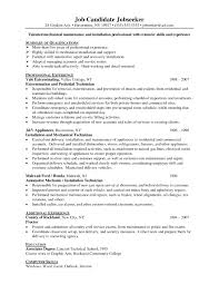 Resume For Maintenance Worker Resume Template For Maintenance Position Best Of Resume Samples For 17