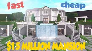 build you a detailed bloxburg mansion