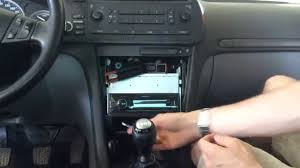 saab 93 aftermarket stereo install