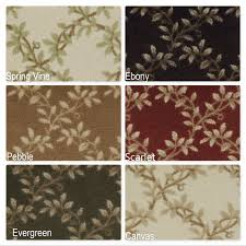 lifetime milliken area rugs rug organic indoor leaf pattern collection within