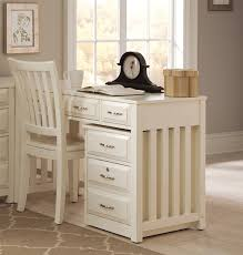 hampton bay writing desk in white finish by liberty furniture 715 ho111