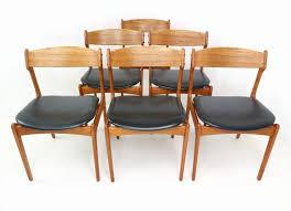 navy dining room chairs chair fresh 6 teak dining chairs erik buch danish modern od mobler