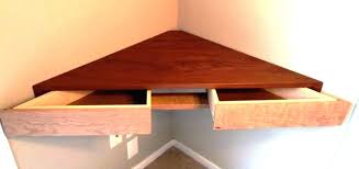 wall mount corner shelf mounted shelves back to floating for books large unit in dark walnut veneer