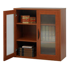 Amazon.com: Storage Bookcase with Doors 30-in. High -: Kitchen & Dining