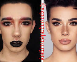And clearly has some identity issues. Surgery Photoshop Drama On Instagram James Charles Before And After Celebrity Plastic Surgery James Charles Photoshop